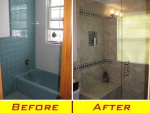 Bathroom Remodel Pics Before After simple bathroom remodeled urban farmhouse master remodel inside